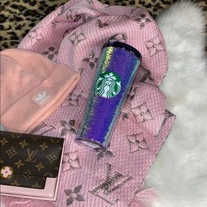 Starbucks sequin cold cup
